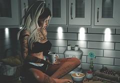 Coffee is Life (Sadystika Sabretooth) Tags: candydoll collabor88 events fashion glamaffair lamb maitreya secondlife ascendant belle belleevents disorderly diversion dots dustbunny gardenofku genus genusproject level nutmeg suicidalunborn