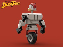 Gizmoduck (OWL3T) Tags: lego moc character cartoon disney duck ducktales