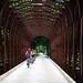 Die rostige Eisenbahnbrücke 2