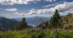 Madriu Valley, Pyrenees (StarCitizen) Tags: andorra landscape mountains clouds sky pyrenees summer sunny foliage