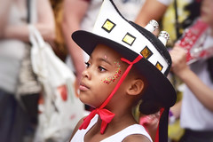 Celebrating the 'Windrush generation' at the Leicester Caribbean Carnival 2019 (Nina_Ali) Tags: child windrushgeneration culture caribbean leicester 2019 unitedkingdom leicestercaribbeancarnival2019