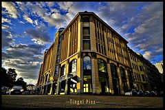 Berlin (tingel79) Tags: berlin germany gebäude building architektur architecture outdoor hdr himmel sky wolken cloud city stadt day photograph photographie photography foto sonya6500 12mm weitwinkel