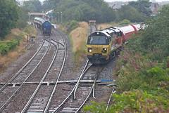 That's Oil Folks! (Richie B.) Tags: 70812 general electric class 70 colas rail dalston oil terminal cumbria 6c35
