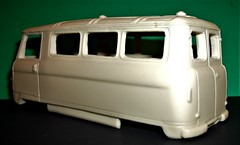 Commer PA minibus body in resin at 1/32nd scale. (Ledlon89) Tags: commer pa commerpa van minibus rootes dodge supervan britishvans british cars vans minibuses resin scalemodel scaleddown 1960s 1970s rootesgroup