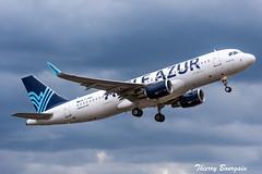 [ORY] Aigle-Azur Airbus A320-214 _ F-HBIX (thibou1) Tags: thierrybourgain ory lfpo orly spotting aircraft airplane nikon d810 tamron sigma aigleazur fhbix airbus a320200 a320214 takeoff airbusa320 a320