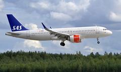 SAS EI-SIF, OSL ENGM Gardermoen (Inger Bjørndal Foss) Tags: eisif sas scandinavian airbus a320 neo osl engm gardermoen