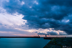 Whitehaven Lighthouse Sunset (alan.thecannon) Tags: d850 lakedistrict sea seascape sky summer whitehaven calm clouds cloudy coast coastal cumbria docks dusk harbour landscape lighthouse longexposure mood ocean outdoors outside peace peaceful picturesque scene scenery seaside shore solway sunset tide water westcumbria