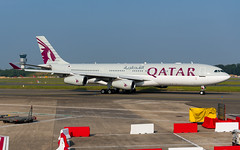 QAF_A342_A7HHK_BRU_JUN2019 (Yannick VP) Tags: military government governmental qatar airways amiri airforce airbus a340 340200 a342 a7hhk qaf qaf5 brussels airport bru ebbr belgium be europe eu june 2019 taxi taxiway twy inn inner airside aviation photography planespotting airplanespotting passenger pax transport aircraft airplane aeroplane jet jetliner airliner vip vvip dignitary state