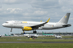 EC-MXP | Vueling Airlines | Airbus A320-232(WL) | CN 8244 | Built 2018 | DUB/EIDW 04/07/2019 (Mick Planespotter) Tags: aircraft airport 2019 nik sharpenerpro3 dublinairport collinstown flight a320 spotter plane planespotter airplane aeroplane ecmxp vueling airlines airbus a320232wl 8244 2018 dub eidw 04072019
