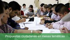 Foro Huajuapan propuestas ciudadanas en mesas temáticas