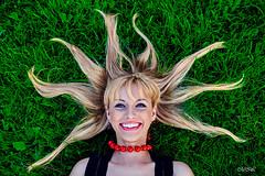 _MG_5693_1 (Mikhail Lukyanov) Tags: summer grass girl woman smile funny beautiful pretty face closeup