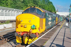 37407+37059 at Shrewsbury with 1Z44 0550 Huddersfield - Paignton 25/05/19. (chrisrowe37419) Tags:
