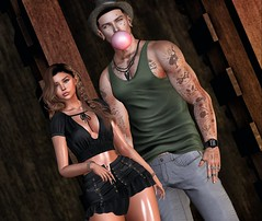 ☠ PLOC (Shock Q'Kell) Tags: arcback pants hat tattoo bolson redfish bubblegum lelutka swallow ears volkstone letre amias necklace hairbase fkd tanktop bloggers slbloggers photo slphoto fashion style catwa signature sl secondlife