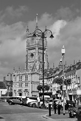 Cirencester (martinelliss) Tags: monochrome buildings churches cirencester uk england gloucestershire