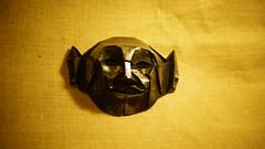 Elf Akash mask (ilja11) Tags: origami mask face head elf silver origamimask paper papercraft jacksonsorigami fynnjackson jacksonsorigamimasks