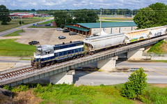 <S/B> Radmont RY Train (RailfanTerry) Tags: redmontrailway101 droneshot shortline corinth mississippi unitedstatesofamerica