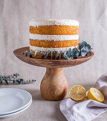 lemon olive oil cake with lemon cream (dtzapztl76) Tags: recipe recipes yummy food cook cooking cake lemon