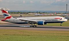 G-YMMT - Boeing 777-236(ER) - LHR (Seán Noel O'Connell) Tags: britishairways ba speedbird gymmt boeing 777236er b777 b772 777 heathrowairport lhr egll bkk vtbs ba10 baw10 aviation avgeek aviationphotography planespotting