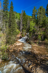LaPlataCanyon_129 (allen ramlow) Tags: la plata canyon waterfall colorado landscape nature scenic scenery outdoors trees rocks sky sony alpha a7iii