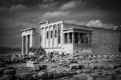 Erechtheion, Acropolis of Athens (gotan-da) Tags: blackwhite schwarzweiss noiretblanc blackandwhite bw monochrome