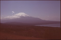 (✞bens▲n) Tags: pentax lx astia 100f at200 fa43mm f19 limited film analogue yamanashi japan fuji mountain lake fujisan