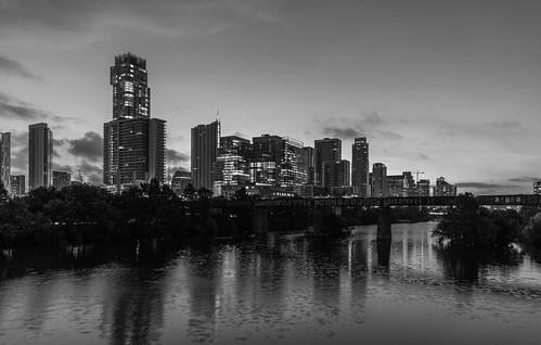 Downtown Austin at Dawn