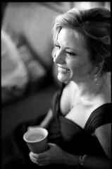 © 2015 Johnny Martyr LindseyLost215 (Johnny Martyr) Tags: nikon nikkor fm2 fm 85mm portrait smile focus bokeh happy bride teeth blonde she her woman girl shoulders looking look eyes film 35mm black white kodak trix hc110
