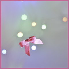 Hot pink & bokeh