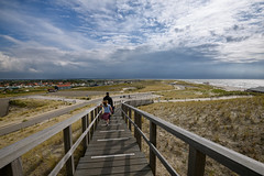 Petten (Julysha) Tags: petten dunes stairs 2019 thenetherlands noordholland summer august people strand beach sky clouds d810 nikkor1635vr acr sea northsea