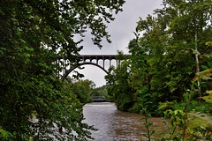 Two Bridges Crossing the Cuyahoga River (Cuyahoga Valley National Park)