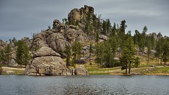 Rock Formations and Sylvan Lake (Custer State Park)