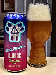 2019 225/365 8/13/2019 TUESDAY - LUX Rye Ale - Bissell Brothers