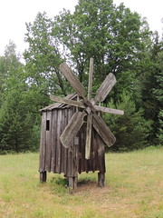 Windmill, Open-air Museum, Lithuania (Anita363) Tags: windmill pump wooden openairethnographicmuseum rumsiskesopenairmuseum openairmuseumoflithuania openairmuseum museum ethnographicmuseum lithuanian rumsiskes lithuania rumšiškės