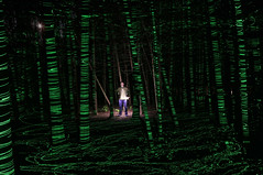 alone (scienceduck) Tags: scienceduck 5c4rt 2019 august wideangle night lightpainting on ontario canada albionhills albionhillsconservationarea camping laser laserpointer forest trees woods