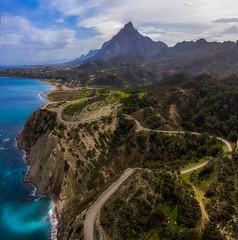 Cyprus north coastline (danielghetu.dg) Tags: dji drone cyprus road mountain morning aerial