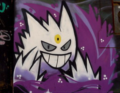 Pokemon (lugar.citadino) Tags: latinamerica américalatina southamerica sudamérica chile valparaíso valparaiso valpo villaalemana canonphotography canon thepokemoncompany pokemon nintendo gengar exploration explorer explore discovery discover traveller travel trip adventurer adventure photographer pro world earth landscape place centralbusinessdistrict central business district downtown neighbourhood city cityscape urban urbanscape streetphotography street graffiti art artistic creativity creative wallpainting wall painting paint draw artwork streetart urbanart photography photo picture image view panorama panoramic shadow shade colour color colours colors tones tone light