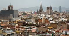 Homes, Churches, and Offices (IceNineJon) Tags: photography canon5dmarkiii barcelona catalonia spain europe travel torreglòries 5dm3 catalunya cataluña españa kingdomofspain reinodeespaña