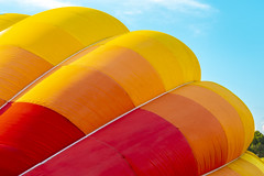 Deep Breath (LRW3) Tags: hotairballoon nikond750 nikon balloon colors sky sunnyday hot air maryland festival