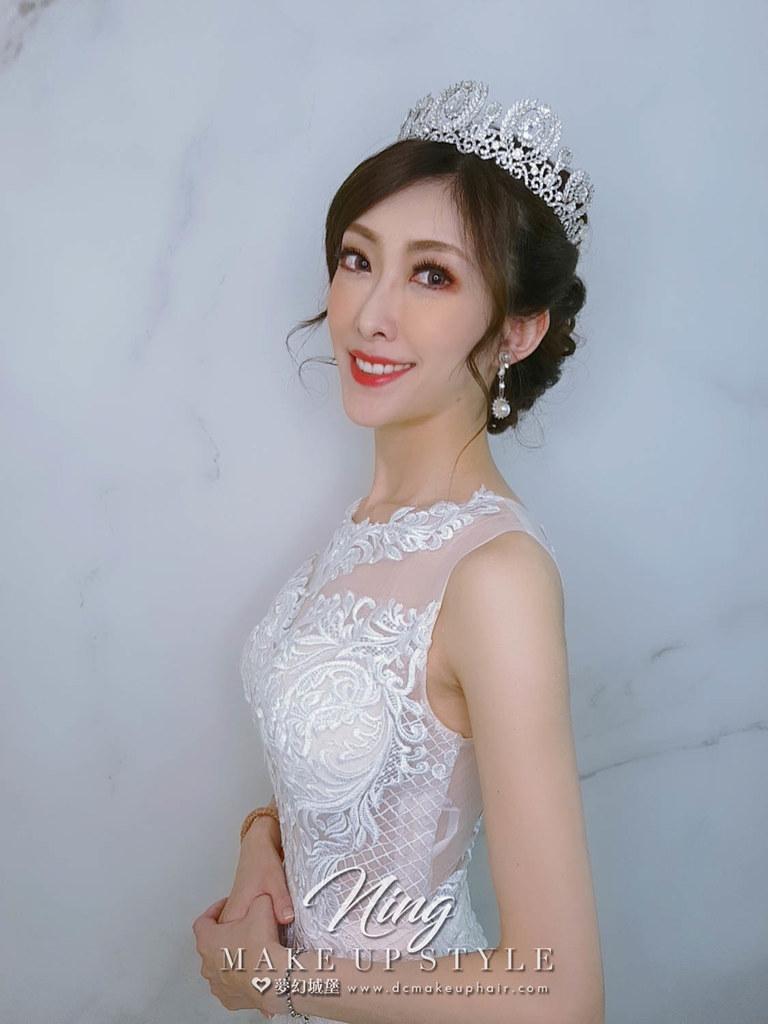 【新秘羽寧】新娘造型創作 / 皇冠女神造型