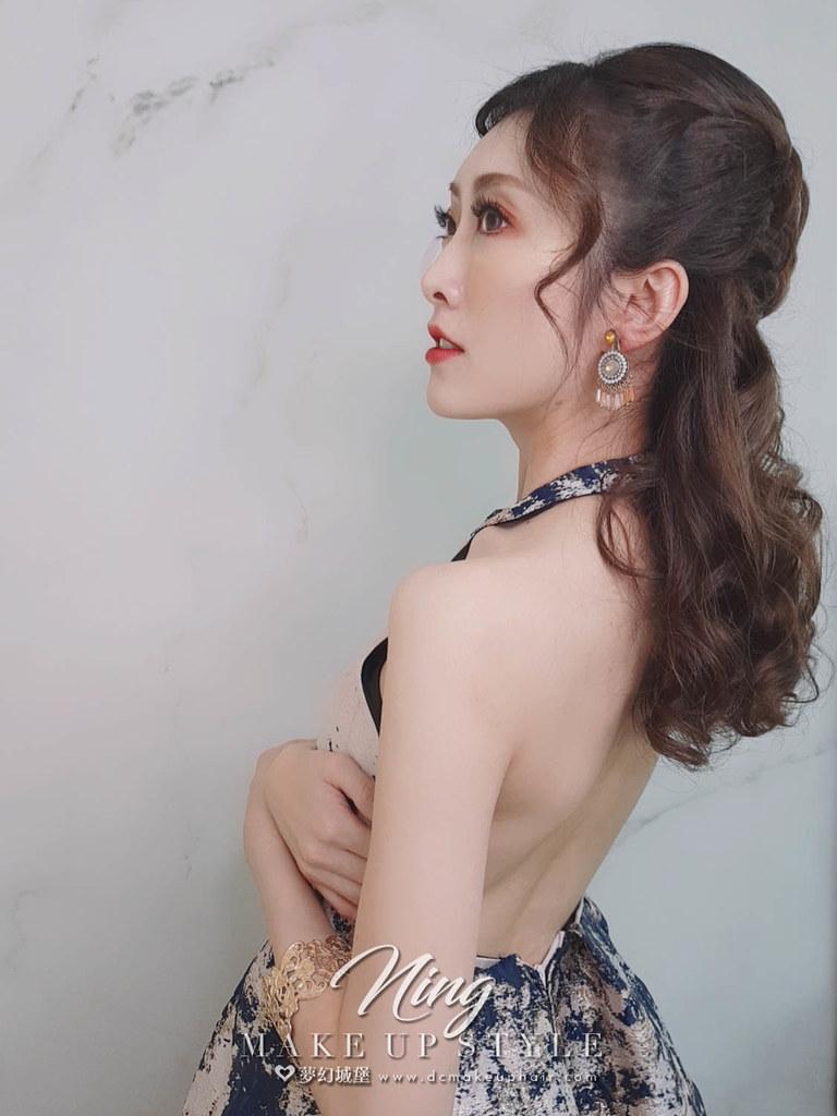 【新秘羽寧】新娘造型創作 / 浪漫女神造型