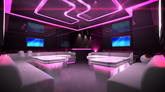 Pink cyber interior room (DAV Productions) Tags: equalize music sound echo disco dance visual square lights luxury studio interior sofa table drink drug technology nightclub bright party glowing backgrounds illuminated clubbing light background led flash stage studiowallbackground virtualset audience dancing club entertainment equipment event audio beauty meeting friends lifestyle spotlight style celebrate festivity tv television australia