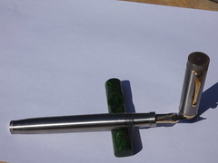 P1040343 (Dr Codfish) Tags: chris thompson ti replplica duofold 2006 parker senior titanium replica ca