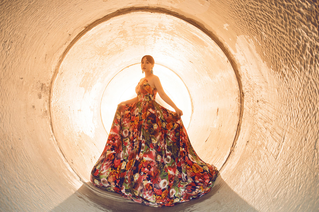 台南自助婚紗|由十鼓文化村決定你的時代感婚紗|Hermosa Wedding