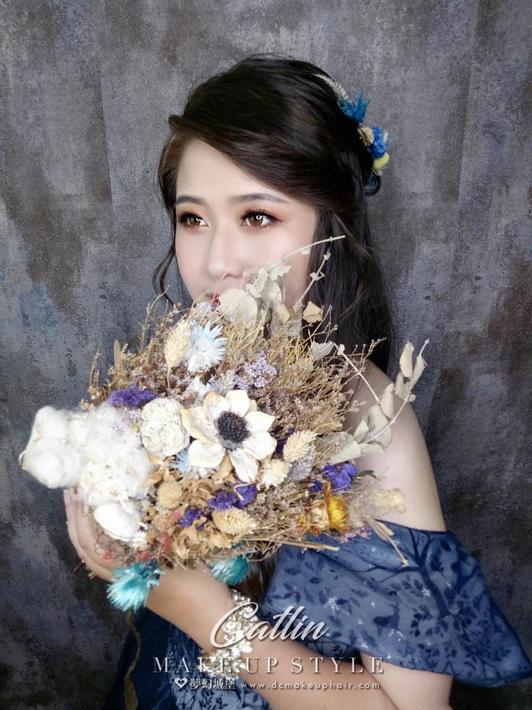 【新秘Catlin】新娘造型創作 /  仙女浪漫造型