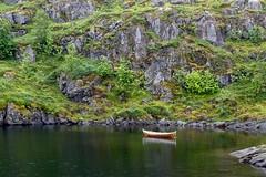 Viking ship! (mikedemmingsphoto.com) Tags: water beautiful serene viking sea ocean seascape landscape boat arctic europe norway lofoten