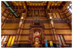 Central Station (Onascht) Tags: d850 bahnhof heaven art amateurphotography lzb train house building indoor centralstation nikonphotography netherlands groningen photoart digitalart nikon landscape clouds
