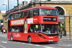 LJ19 CUY (BDE2626) Metroline London (hotspur_star) Tags: londontransport londonbuses londonbus londonbuses2019 alexanderdennisltd enviro400 electricbus tfl transportforlondon busscene2019 doubledeck metrolinelondon lj19cuy bde2626 43
