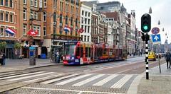 Tours on Tour (Peter ( phonepics only) Eijkman) Tags: amsterdam city combino gvb tram transport tramtracks trams trolley rail rails strassenbahn streetcars nederland netherlands nederlandse noordholland holland