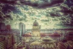 Skyline of Berlin (HDRforEver) Tags: architektur canon vintage building eos deutschland hdr buildings snapseed germany karstenhöltkemeier new 600d photomatix interesting berlin skyline