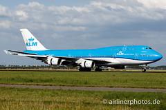 PH-BFT (Airlinerphotos.de) Tags: ams b747400 klm